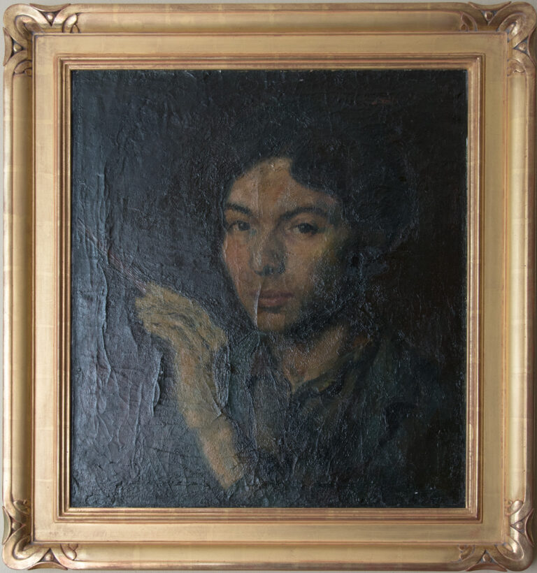 Self Portrait by Mabel Alvarez