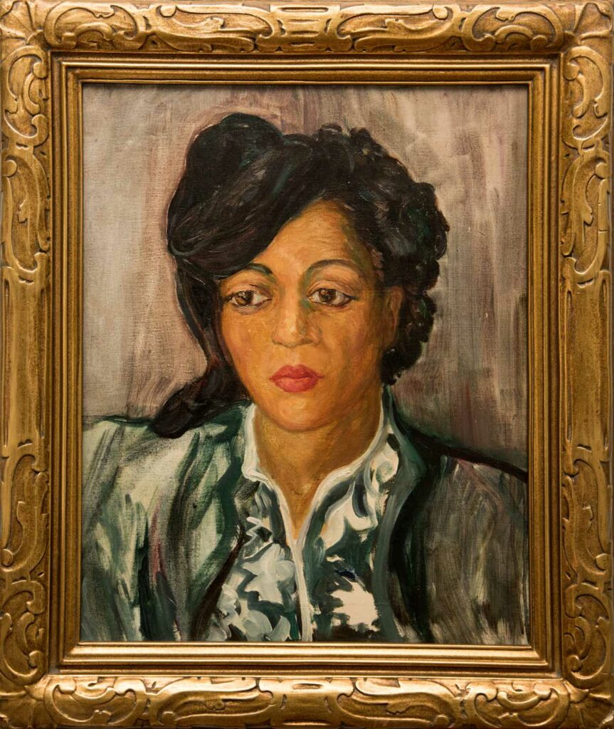 Portrait of a Black Woman by Lydia Cooley Freeman