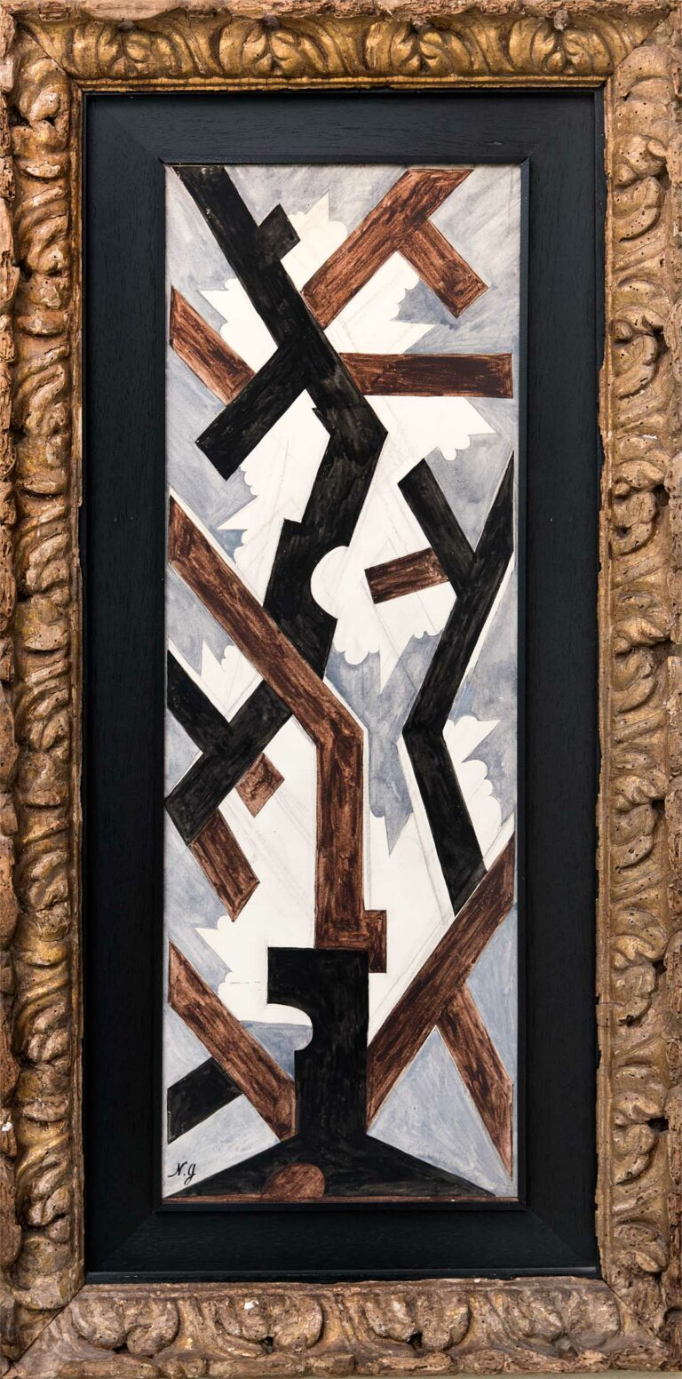 Composizione Cubofuturista by Goncharova, Natalia Sergeevna