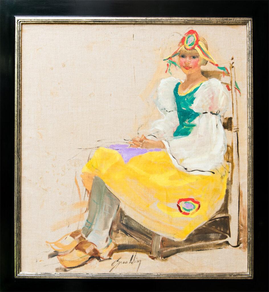 Patricia In Dutch Costume by Grace Spaulding John