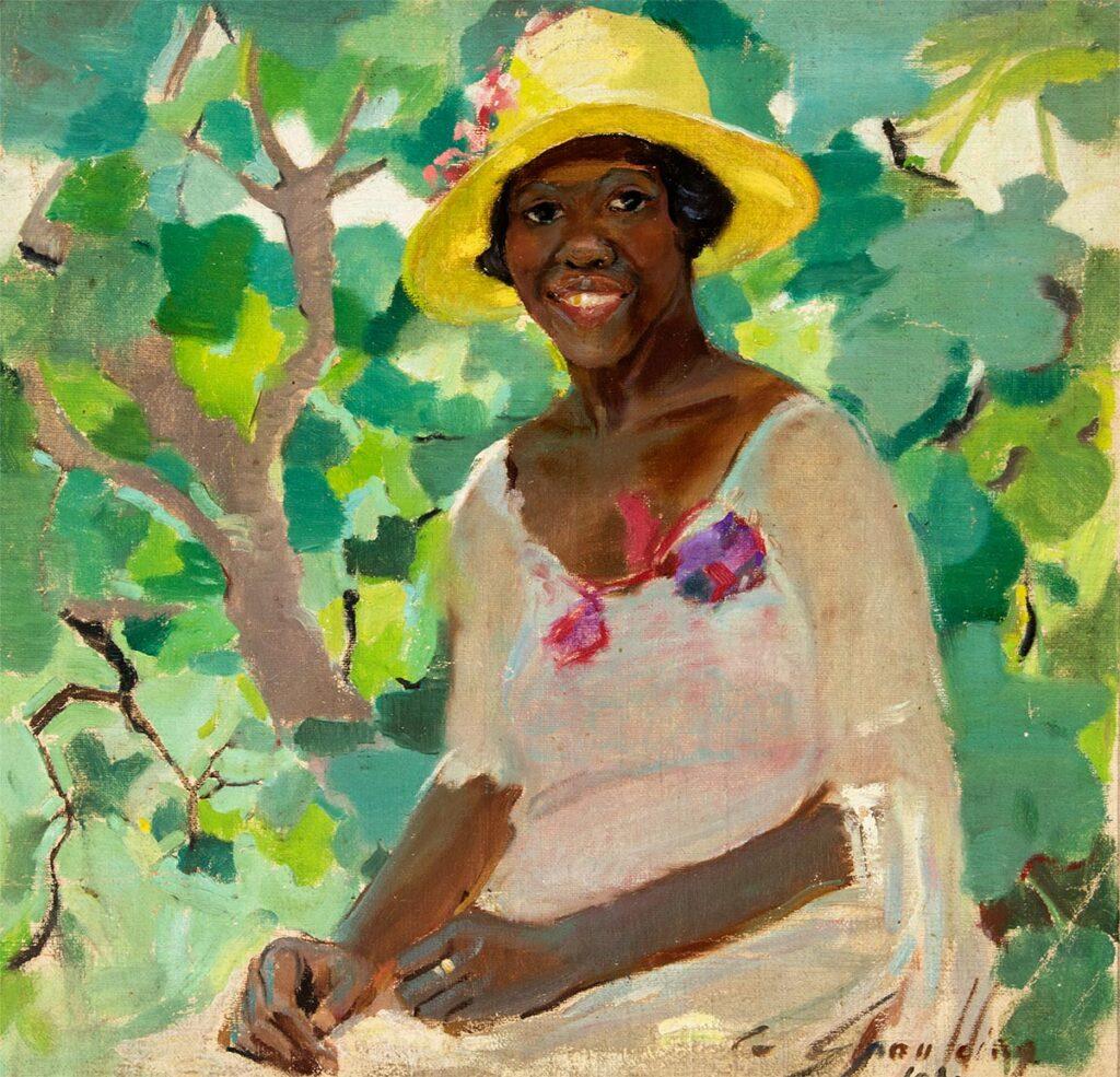 The Yellow Hat by Grace Spaulding John