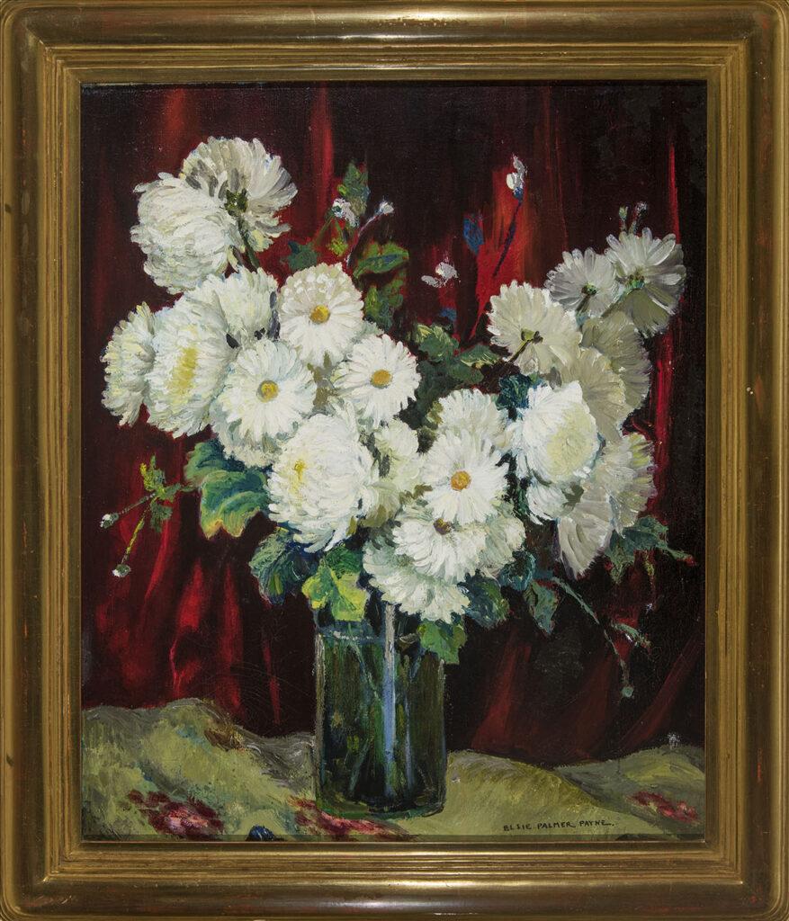 White Flowers by Elsie Palmer Payne