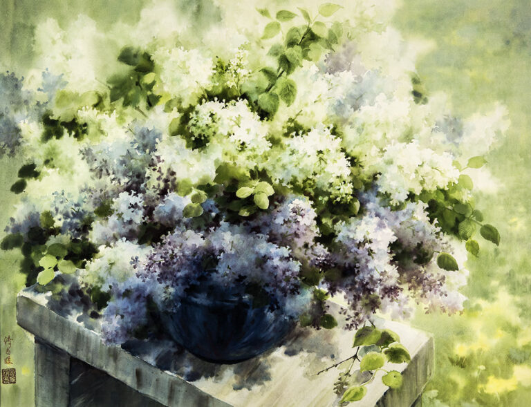 Fragrant Flowers by Fu Shangyuan
