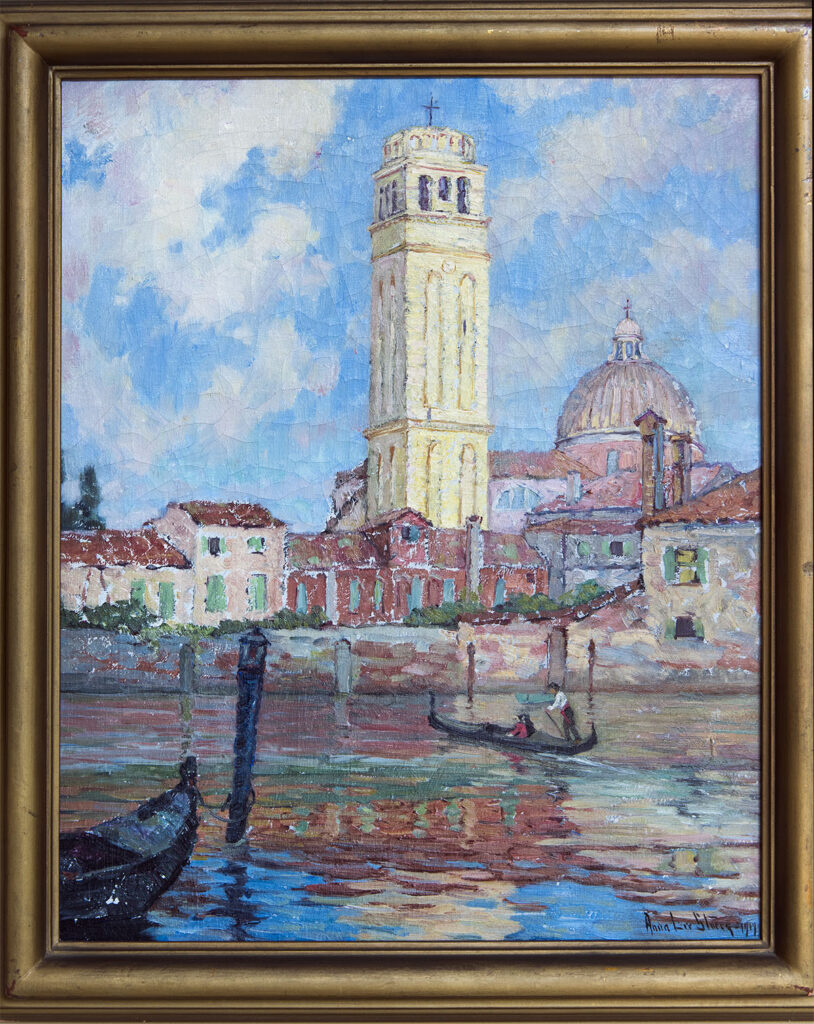 View of San Pietro di Castello by Anna Lee Stacey