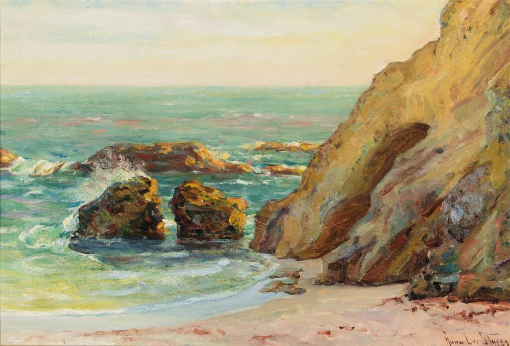 Rocky Beach by Anna Lee Stacey