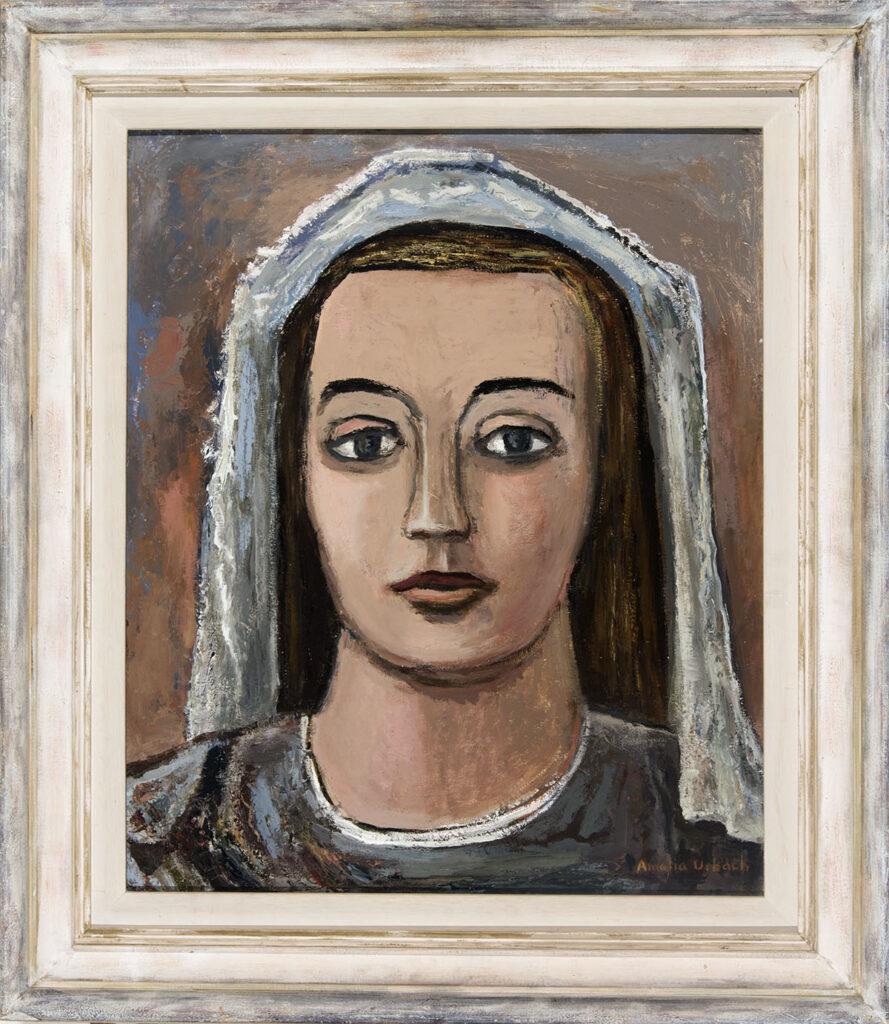 Veiled Woman by Amelia Urbach