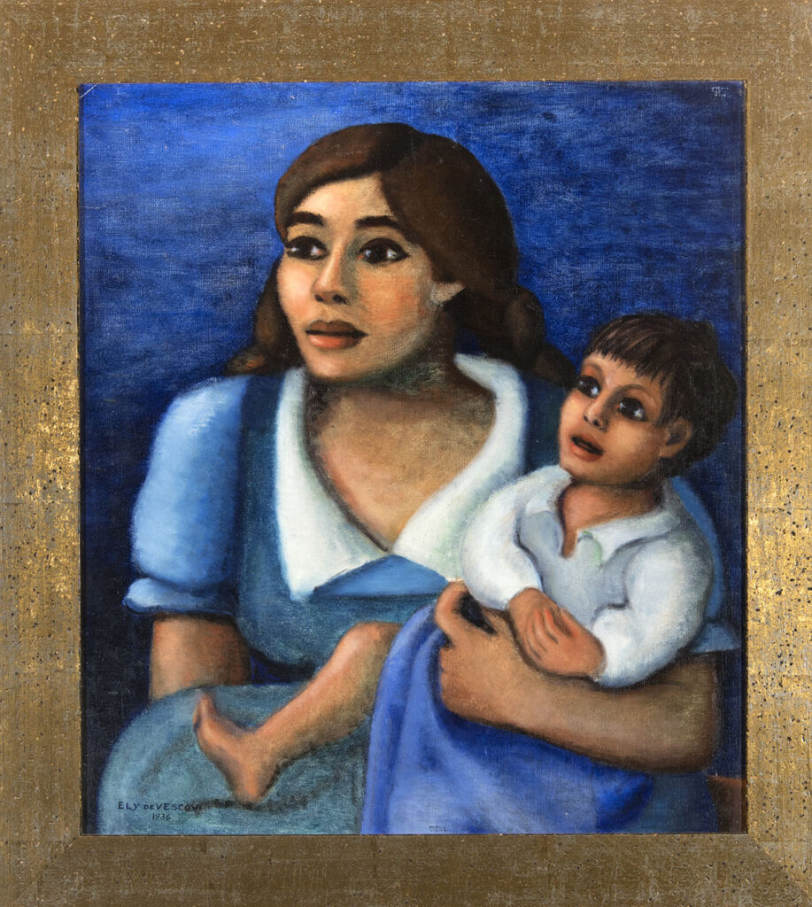 Mother and Child by Ely de Vescovi