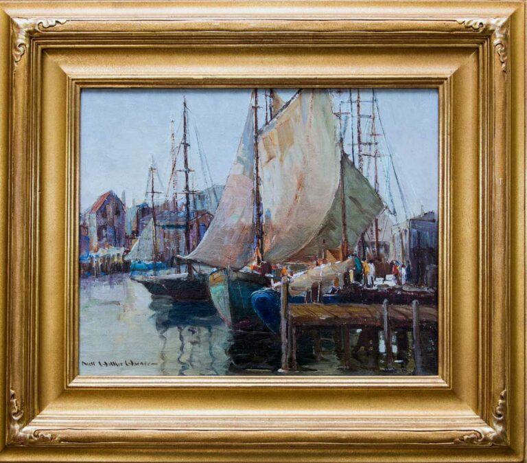 Untitled (Harbor Scene) by Nell Walker Warner