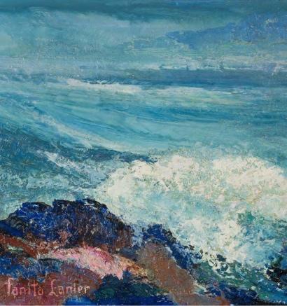 Seashore by Fanita Lanier