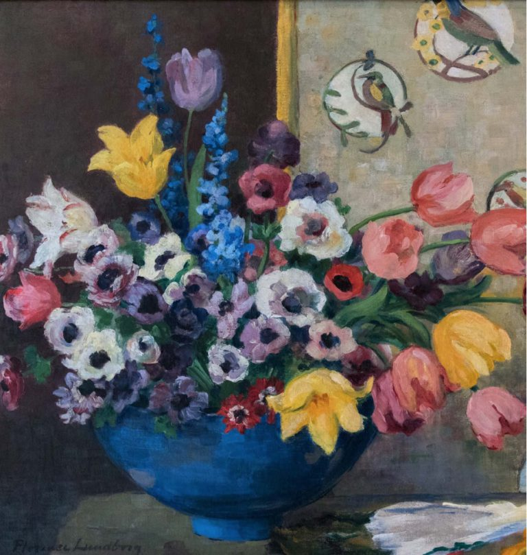Bowl of Color by Florence Lundborg